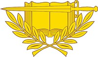 U.S. Army Staff Specialist & Officers, branch insignia