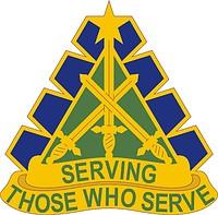 U.S. Army 168 Military Police Battalion, distinctive unit ...