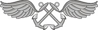 Векторный клипарт: U.S. Navy rating insignia, Aviation Boatswain`s Mate (AB)