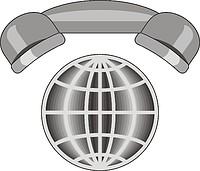 Векторный клипарт: U.S. Navy rating insignia, Interior Communications Electrician (IC)