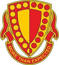 Векторный клипарт: U.S. Army 19th Maintenance Battalion, эмблема (знак различия)
