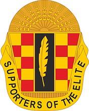 Векторный клипарт: U.S. Army 264th Maintenance Battalion, эмблема (знак различия)