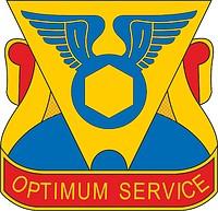 Векторный клипарт: U.S. Army 302nd Maintenance Battalionv, эмблема (знак различия)