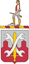 Векторный клипарт: U.S. Army 521st Maintenance Battalion, герб