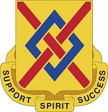 Векторный клипарт: U.S. Army 39th Support Battalion, эмблема (знак различия)