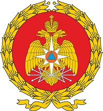 Ruza Civil Defense Support Center for Control Posts, emblem
