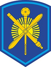 Russian 11th Air and Air Defense Army, sleeve insignia