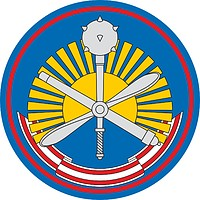 Russian 3rd Air and Air Defense Command, sleeve insignia