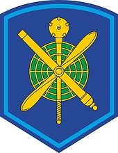 Russian 14th Air and Air Defense Army, sleeve insignia