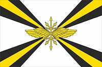 Russian Military Communication Troops, flag
