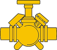 Russian Military Fuel Service, insignia