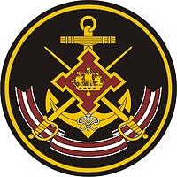 Russian Navy Leningrad Naval Base, shoulder patch