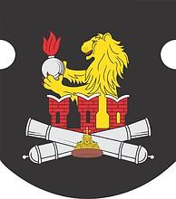 Векторный клипарт: Военная комендатура Москвы, средняя эмблема отдельного салютного дивизиона