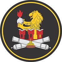 Векторный клипарт: Военная комендатура Москвы, нарукавный знак отдельного салютного дивизиона