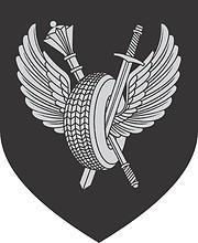 Russian Ministry of Defense, medium emblem of motor-car base