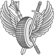 Russian Ministry of Defense, small emblem of motor-car base
