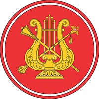 Russian Military Orchestra command, sleeve insignia