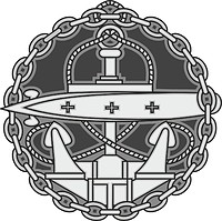 Russian Navy, Submarine Officer Badge (1909)