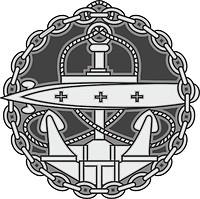 Russian Navy, Submarine Officer Badge (1909)