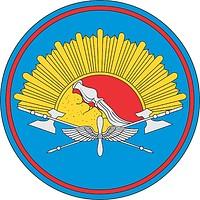 Vektor Cliparts: Voronesch Flug- und Ingenieurmilitärschule (Russland), Ärmelabzeichen