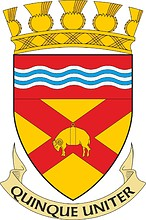 Annandale and Eskdale (former district in Scotland), coat of arms (1976)