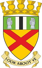 Clackmannan (former district in Scotland), coat of arms (1975)