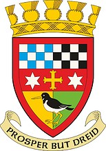 East Kilbride (former district in Scotland), coat of arms (1975)
