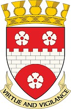 Hamilton (former district in Scotland), coat of arms (1975)
