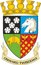 Tweddale (ehemaliges Kreis in Schottland), Wappen (1975)