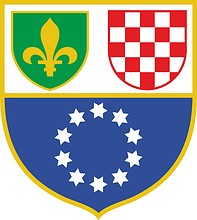 Federation of Bosnia and Herzegovina, coat of arms (1996-2007)
