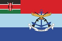 Kenya Defence Forces (KDF), flag