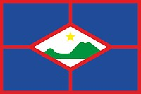 Sint Eustatius (Netherlands Antilles), flag