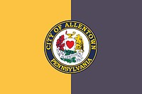 Allentown (Pennsylvania), Flagge