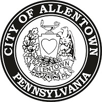 Allentown (Pennsylvania), seal (black & white)