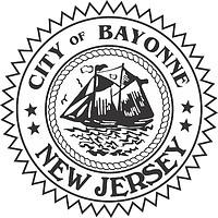 Bayonne (New Jersey), Siegel (schwarz-weiß)