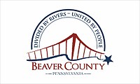 Beaver (County in Pennsylvania), Flagge