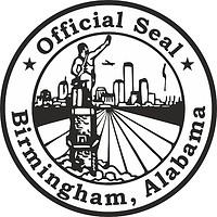 Birmingham (Alabama), Siegel (schwarz/weiß)
