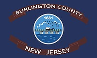 Burlington county (New Jersey), flag
