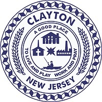 Clayton (New Jersey), seal