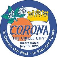 Corona (California), seal