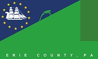 Erie county (Pennsylvania), flag