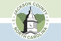 Jackson (County in North Carolina), Flagge
