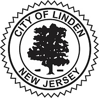 Linden (New Jersey), seal (black & white)