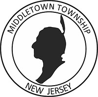 Middletown (New Jersey), seal (black & white)