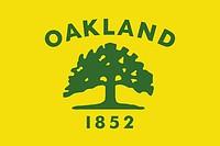 Oakland (California), flag