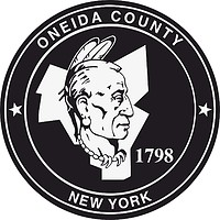 Oneida (County in New York), Siegel (schwarz-weiß)