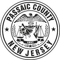 Passaic (County in New Jersey), Siegel (schwarz-weiß)