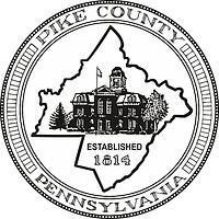 Pike county (Pennsylvania), seal (black & white)