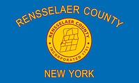 Rensselaer (County in New York), Flagge