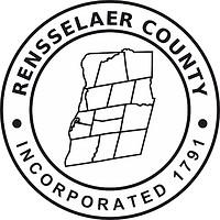 Rensselaer (County in New York), Siegel (schwarz-weiß)